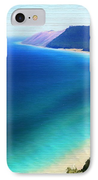 Sleeping Bear Dunes Barn Wood IPhone Case by Dan Sproul