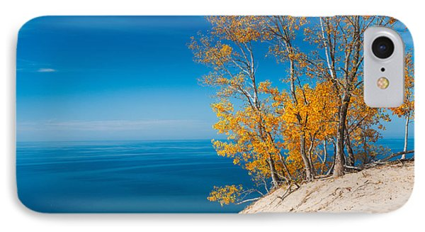 Sleeping Bear Dunes Vista 002 IPhone Case by Larry Carr
