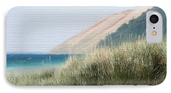 Sleeping Bear Sand Dune IPhone Case by Dan Sproul