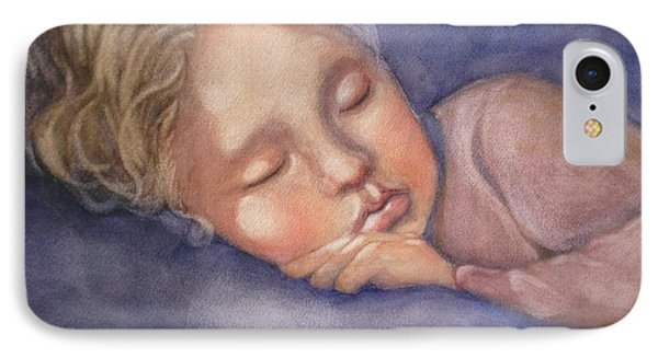 Sleeping Beauty IPhone Case by Marilyn Jacobson