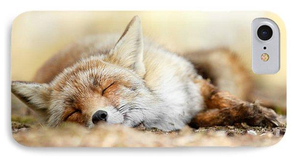 Sleeping Beauty -red Fox In Rest IPhone Case