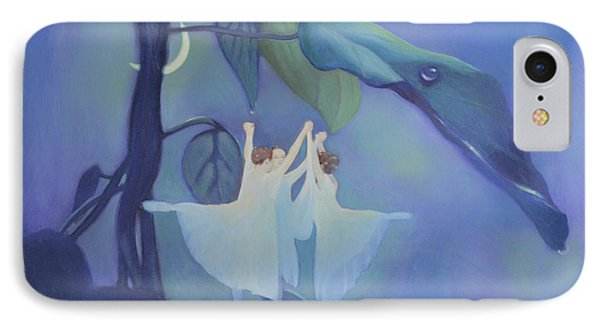 Sleeping Fairies IPhone Case by Blue Sky