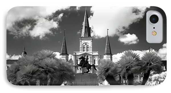 Sleeping In Jackson Square Infrared IPhone Case
