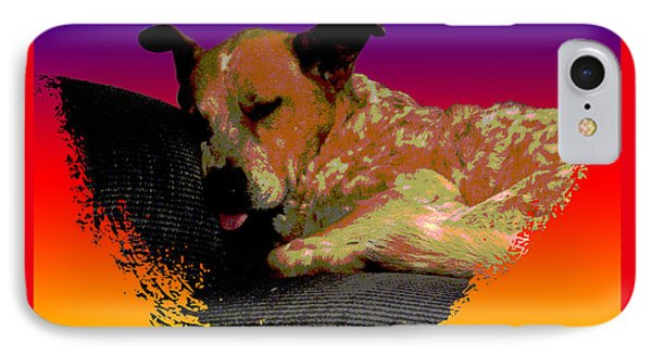 Sleeping Soundly Phone Case by One Rude Dawg Orcutt