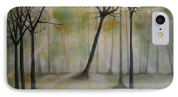 Sleeping Trees Phone Case by Tamara Bettencourt