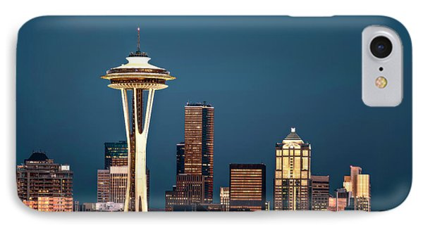 Sleepless In Seattle IPhone Case by Eduard Moldoveanu