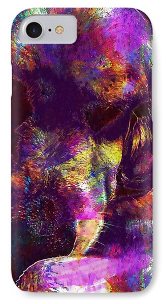 Sleepy Dog Lazy Resting  IPhone Case