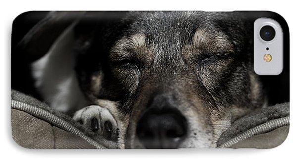 Sleepy Lil Hound IPhone Case