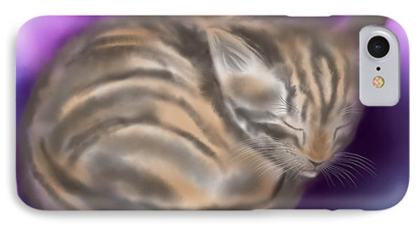 IPhone Case featuring the painting Sleepy Sam by Nick Gustafson