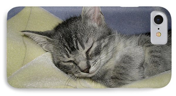 Sleepy Time IPhone Case by Donna Brown