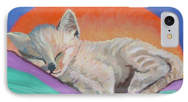 IPhone Case featuring the painting Sleepy Time by Phyllis Kaltenbach