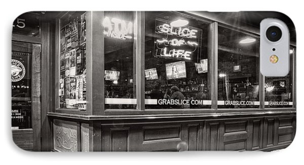 Slice Of Life In Wilmington North Carolina In Black And White IPhone Case by Greg Mimbs