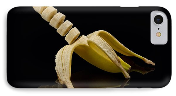Sliced Banana IPhone Case by Gert Lavsen