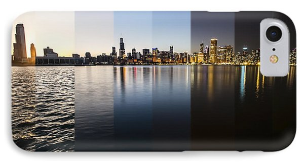 Slices Of The Chicago Skyline IPhone Case