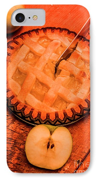 Slicing Apple Pie IPhone Case by Jorgo Photography - Wall Art Gallery