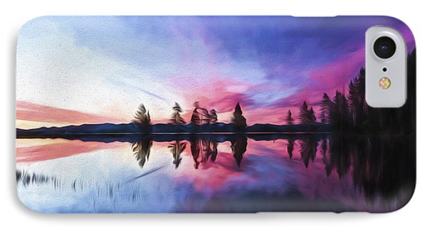 Slide Into The Day II IPhone Case by Jon Glaser