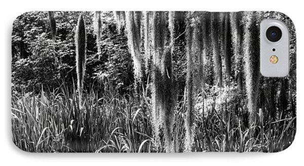 Slidell Spanish Moss IPhone Case by Glenn DiPaola