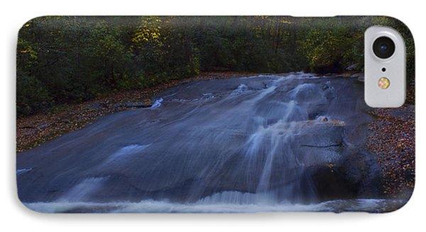 IPhone Case featuring the photograph Sliding Rock Falls by Ellen Heaverlo