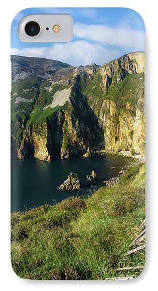 IPhone Case featuring the photograph Slieve League Cliffs Eastern End by RicardMN Photography