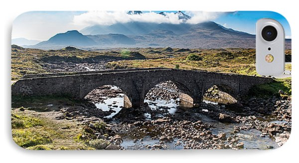 IPhone 7 Case featuring the photograph Skye Cuillin From Sligachan by Gary Eason