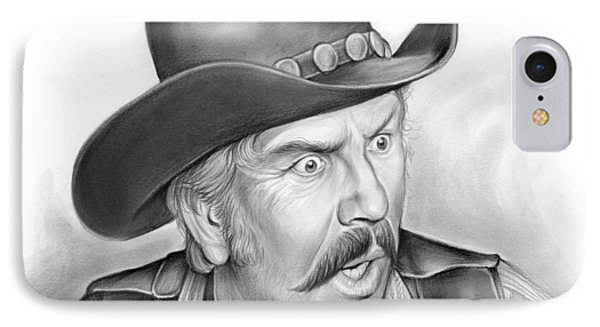 Slim Pickens IPhone Case by Greg Joens