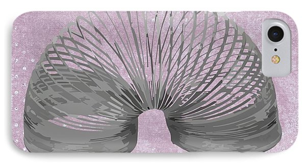 Slinky IPhone Case by Priscilla Wolfe