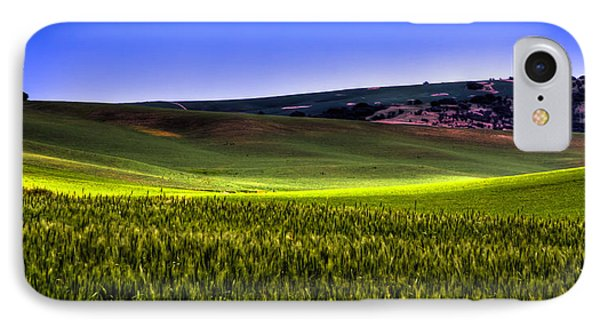 Sliver Of Sunlight On The Palouse Hills Phone Case by David Patterson