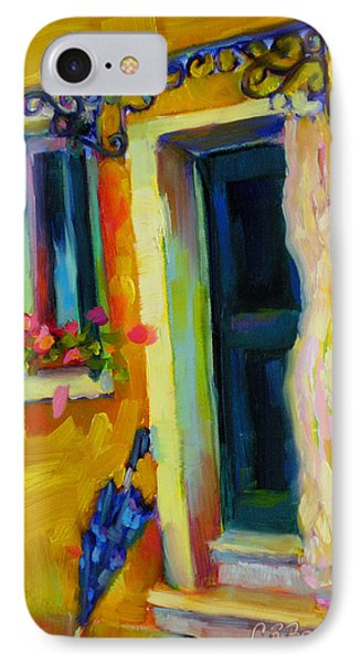 IPhone Case featuring the painting Sliver Of Sunshine by Chris Brandley