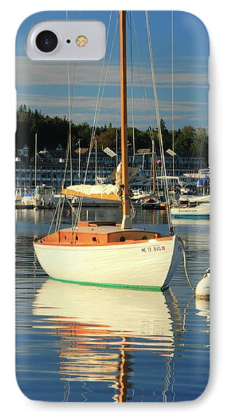 IPhone Case featuring the photograph Sloop Reflections by Roupen  Baker