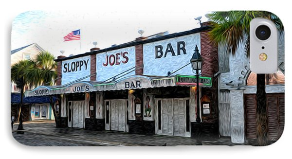 Sloppy Joe's Bar Key West Phone Case by Bill Cannon