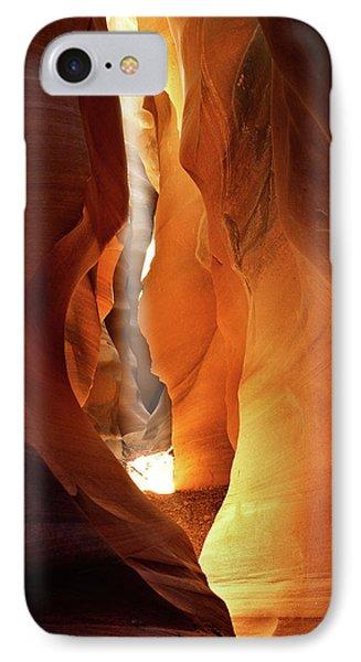 Slot Canyon Light IPhone Case by Leland D Howard