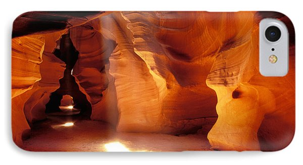 Slot Canyon Warm Light Phone Case by Garry Gay