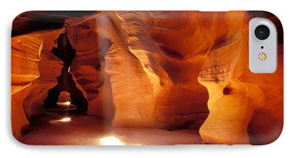 Slot Canyon Warm Light IPhone Case