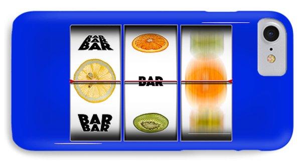 Slots IPhone Case by Steve Gadomski