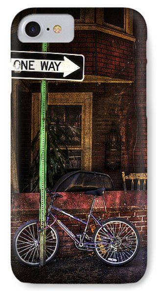 Slow Down On The Race Street Phone Case by Evelina Kremsdorf