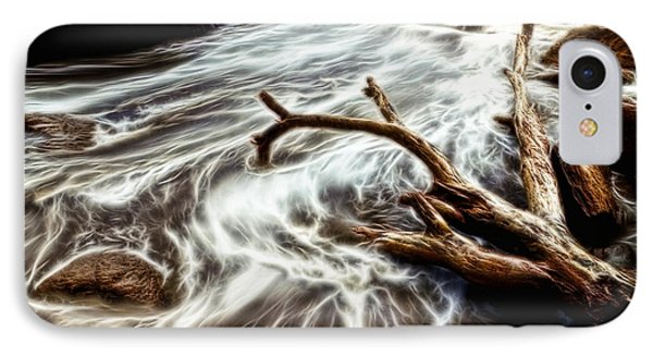 Slow Motion Sea IPhone Case by Cameron Wood