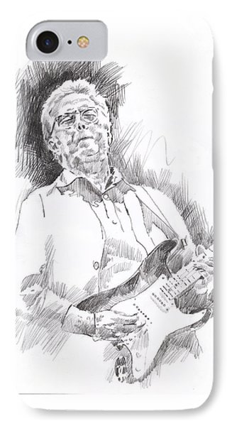 Slowhand IPhone Case by David Lloyd Glover