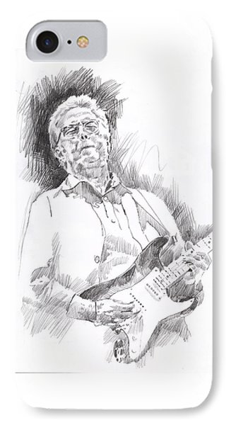 Slowhand IPhone 7 Case by David Lloyd Glover