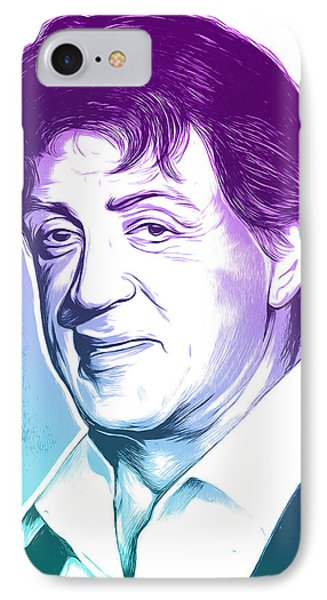 Sly Stallone IPhone Case