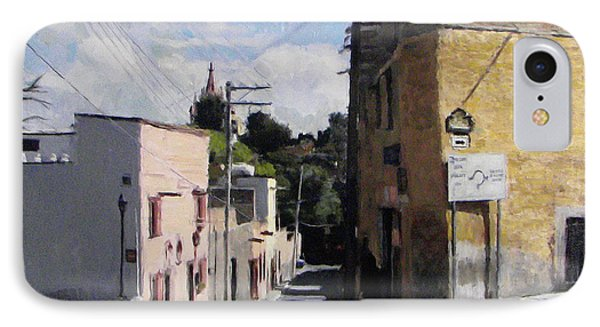 Sma Calle Aldama IPhone Case by Thomas Tribby