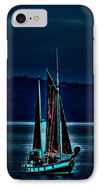 Small Among The Tall Ships IPhone Case
