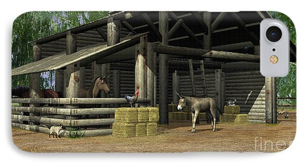 Small Barn IPhone Case by Walter Colvin