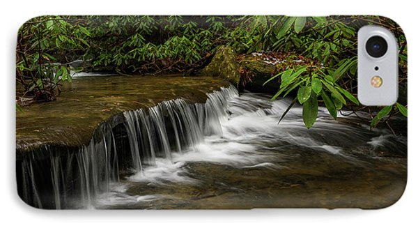 Small Cascade On Pounder Branch. IPhone Case