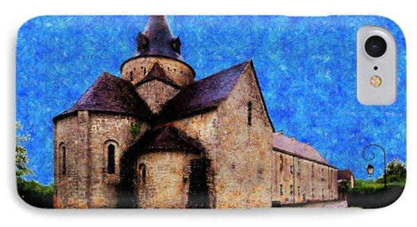Small Church 1 Phone Case by Jean Bernard Roussilhe