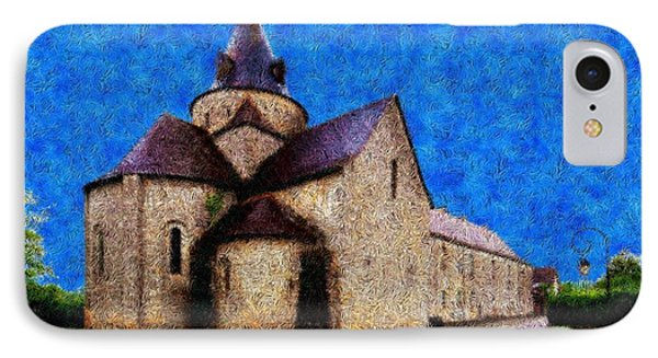 Small Church 4 Phone Case by Jean Bernard Roussilhe
