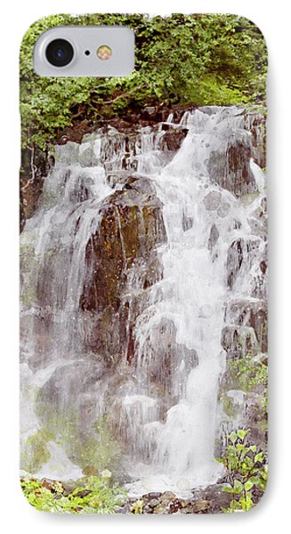 Small Falls On Mt. Ranier Phone Case by Peter J Sucy