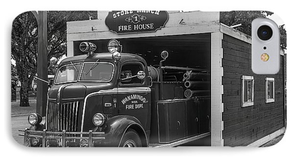 Small Fire House IPhone Case by Garry Gay
