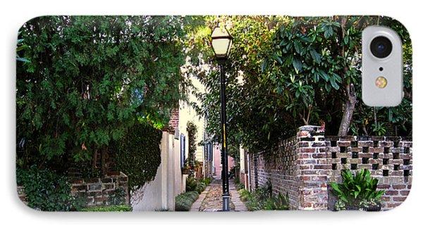 Small Lane In Charleston Phone Case by Susanne Van Hulst