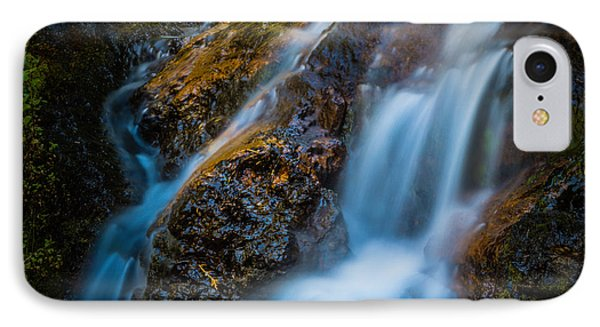 Small Mountain Stream Falls IPhone Case by Chris McKenna