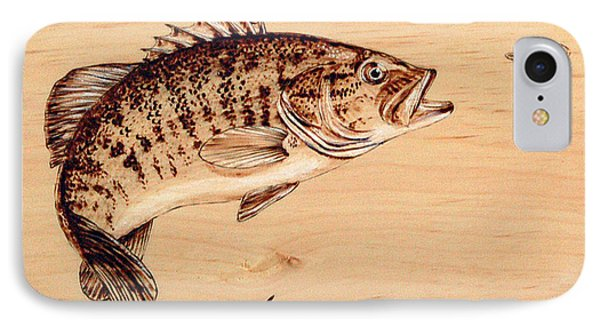 Small Mouth Bass IPhone Case